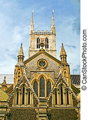 Southwark Cathedral famous London landmark big and old