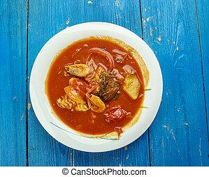 Southwest Cilantro Fish Stew