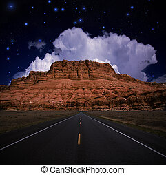 Southwestern USA Road