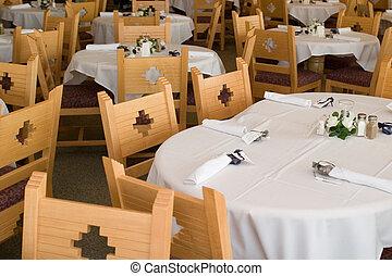 wedding reception - southwestern wedding reception