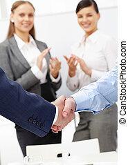 soutien, business