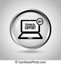 soutien, informatique
