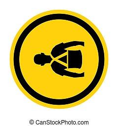 soutien, signe, eps.10, symbole, illustration, isoler, ...