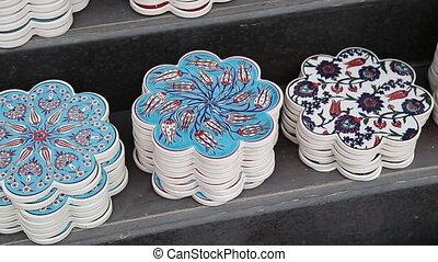 Souvenir homemade wares for tourists in Istanbul - Souvenir...
