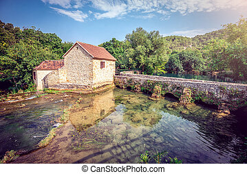 Souvenir house in Krka national park - Souvenir house at...