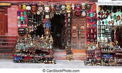 Souvenir shop exterior - Exterior of a souvenir shop in...