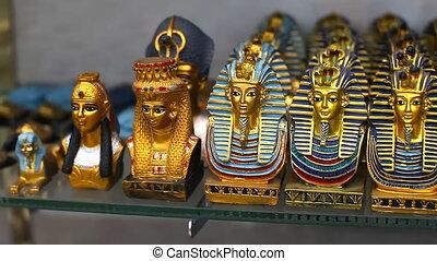 Souvenir shop in Egypt - Sale of souvenirs in shops in Egypt