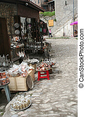 souvenir shop in safranbolu, turkey