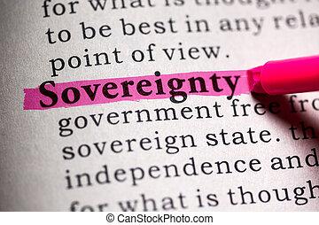 souveraineté