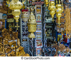 Sovenirs, Street Market, Old Jerusalem