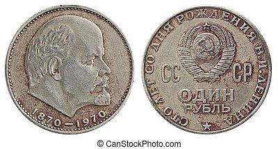 soviétique, rouble