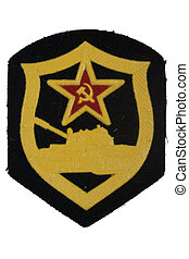 soviet army tank forces badge