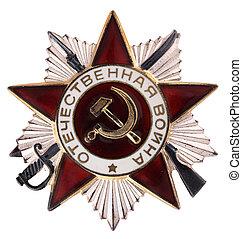Soviet award.