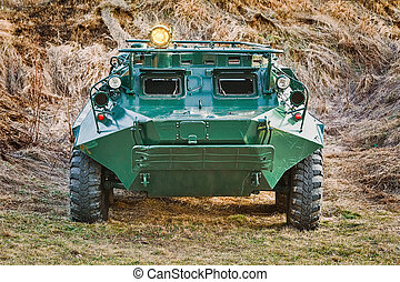 Armoured Personnel Carrier - Soviet Eight-wheeled Armoured...