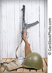 soviet equipment of World War Two - different soviet...
