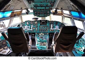 Soviet era - Ilyushin cockpit