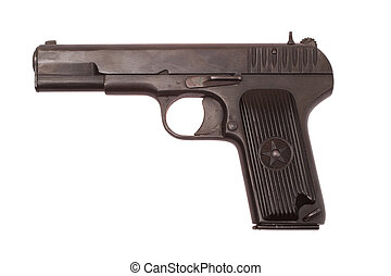 Soviet handgun TT - Soviet handgun TT (Tula,Tokarev)...