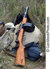 Soviet historical military items. - Kiev, Ukraine