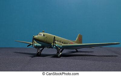Soviet military transport aircraft