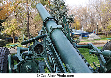 Soviet Mortar elements - Soviet 140 mm divisional mortar ...