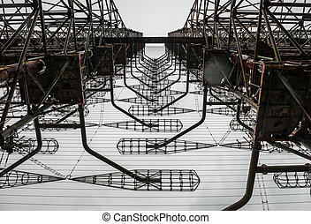 Soviet radar station in Chernobyl