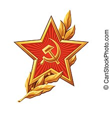 Soviet Red Army badge