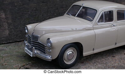 retro car GAZ M-20