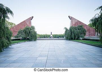 Soviet War Memorial in Treptower Park, Berlin, Germany