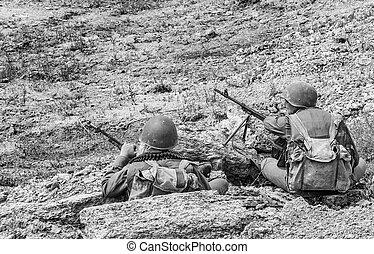 sovjet, spetsnaz, in, afghanistan