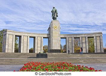 sovjet, ww2, gedenkteken, berlin