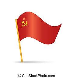 sovjetisk sammanslagning, flagga