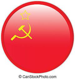 sovjetisk sammanslagning, flagga, ikon