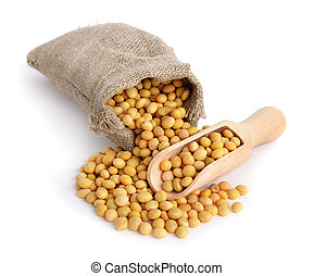 Soy in a bag.