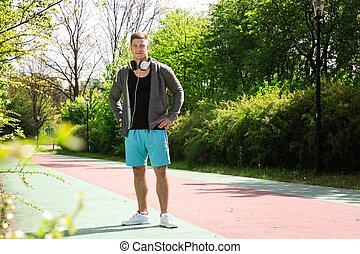 soy, yendo, jogging