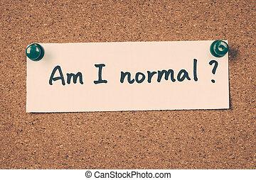 soy, yo, normal