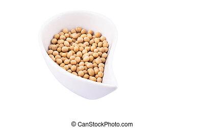 Soya Bean - Soya bean in a ceramic bowl