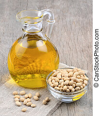 Soybean oil with soybean