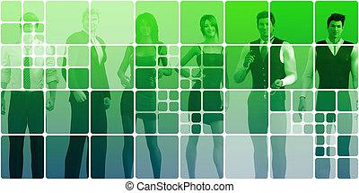 sozial, networking, leute