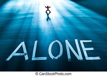 sozinha, conceito