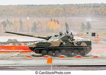 spåra, pansrad, bmd-4m, luftburen, fordon