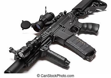 spécial, construire, coutume, m4a1, nous, rifle., forces, ...
