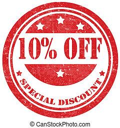 spécial, discount-stamp