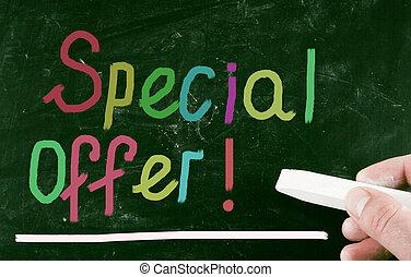 spécial, offer!