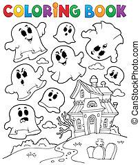 spöke, kolorit, tema, 2, bok