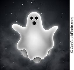 spöke, utomhus
