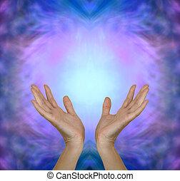 spüren, heilung, energie