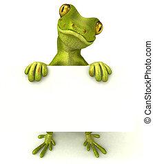 spaß, gecko