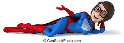 spaß, superhero