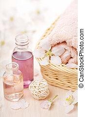 spa and aromatherapy set