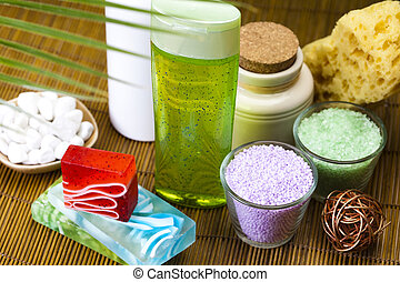 Spa and cosmetic - Spa and body care composition